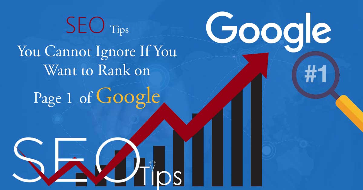 Top SEO Tips you Cannot Ignore!