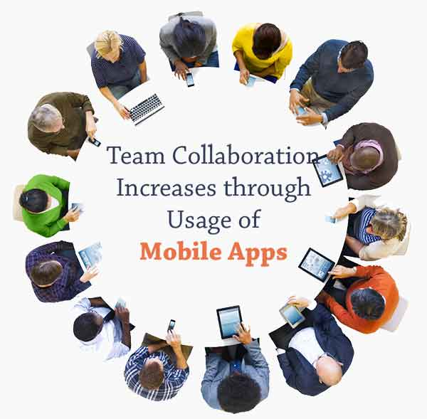 team-collabration-increases-through-mobile-app