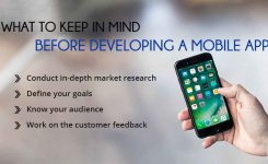 What to Keep in Mind Before Developing a Mobile App