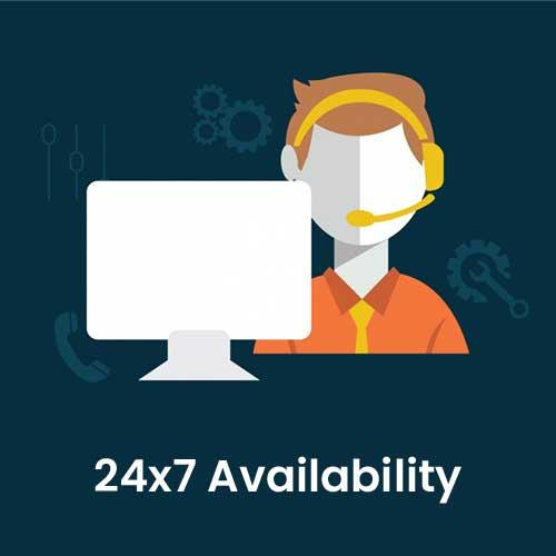 24x7-Availability