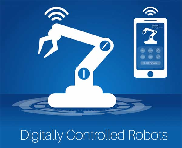 Digitally Controlled Robots