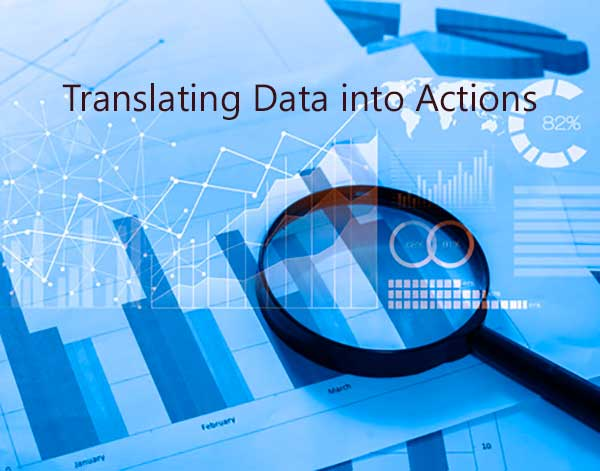 Translating Data into Actions